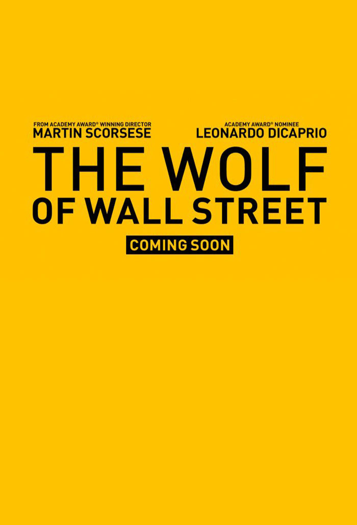 The Wolf of Wall Street Poster #1