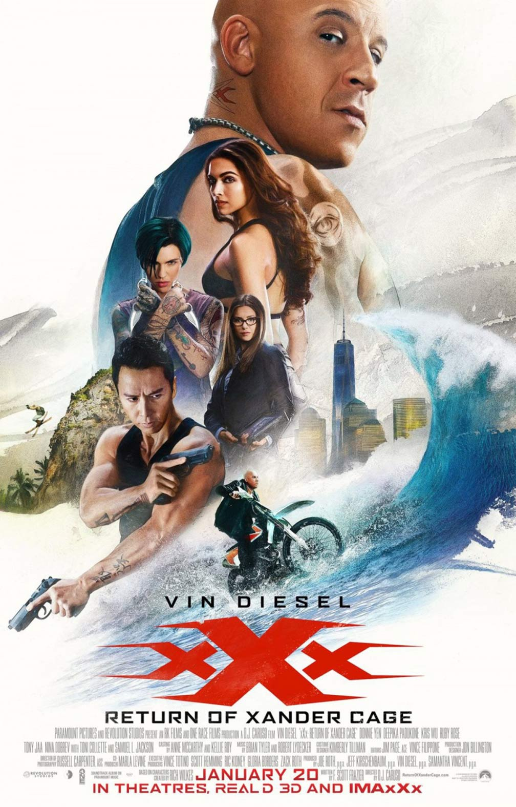 xXx: The Return of Xander Cage Poster #15