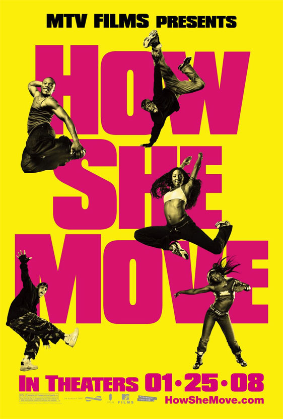 How She Move Poster #2