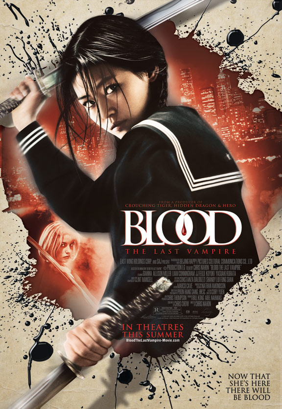 Blood: The Last Vampire Poster #3