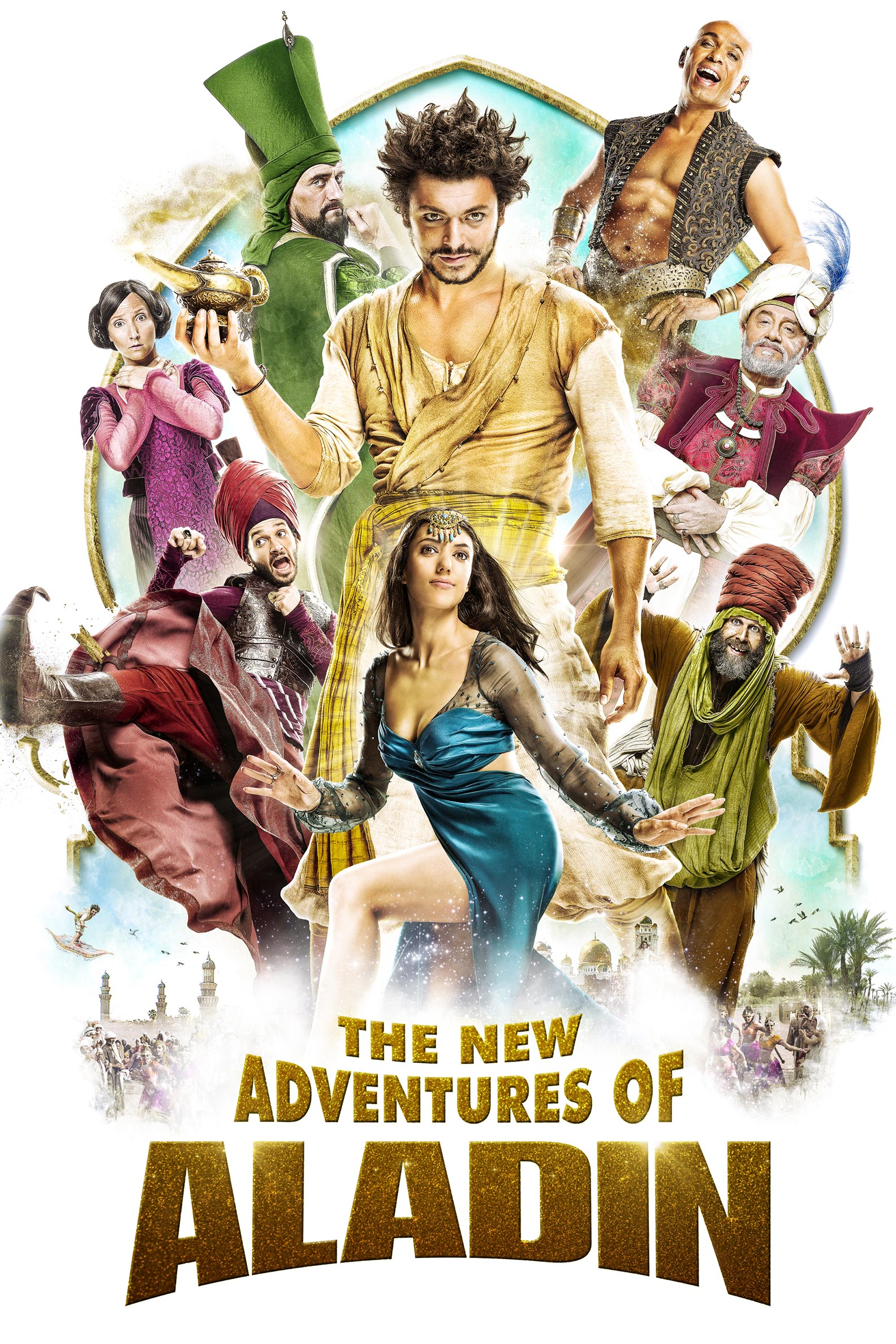 The New Adventures of Aladdin Poster #1