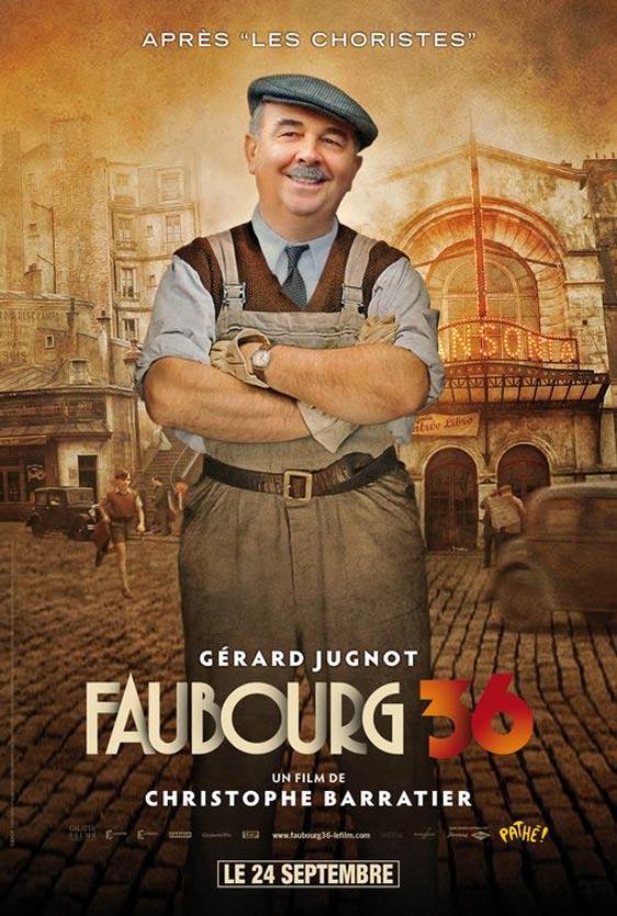 Paris 36 (Faubourg 36) Poster #2