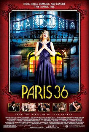 Paris 36 (Faubourg 36) Poster #6