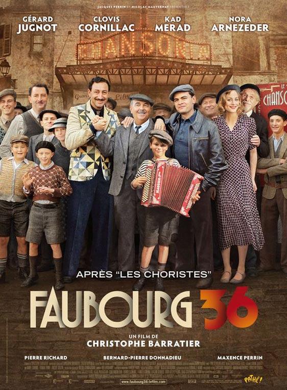 Paris 36 (Faubourg 36) Poster #1