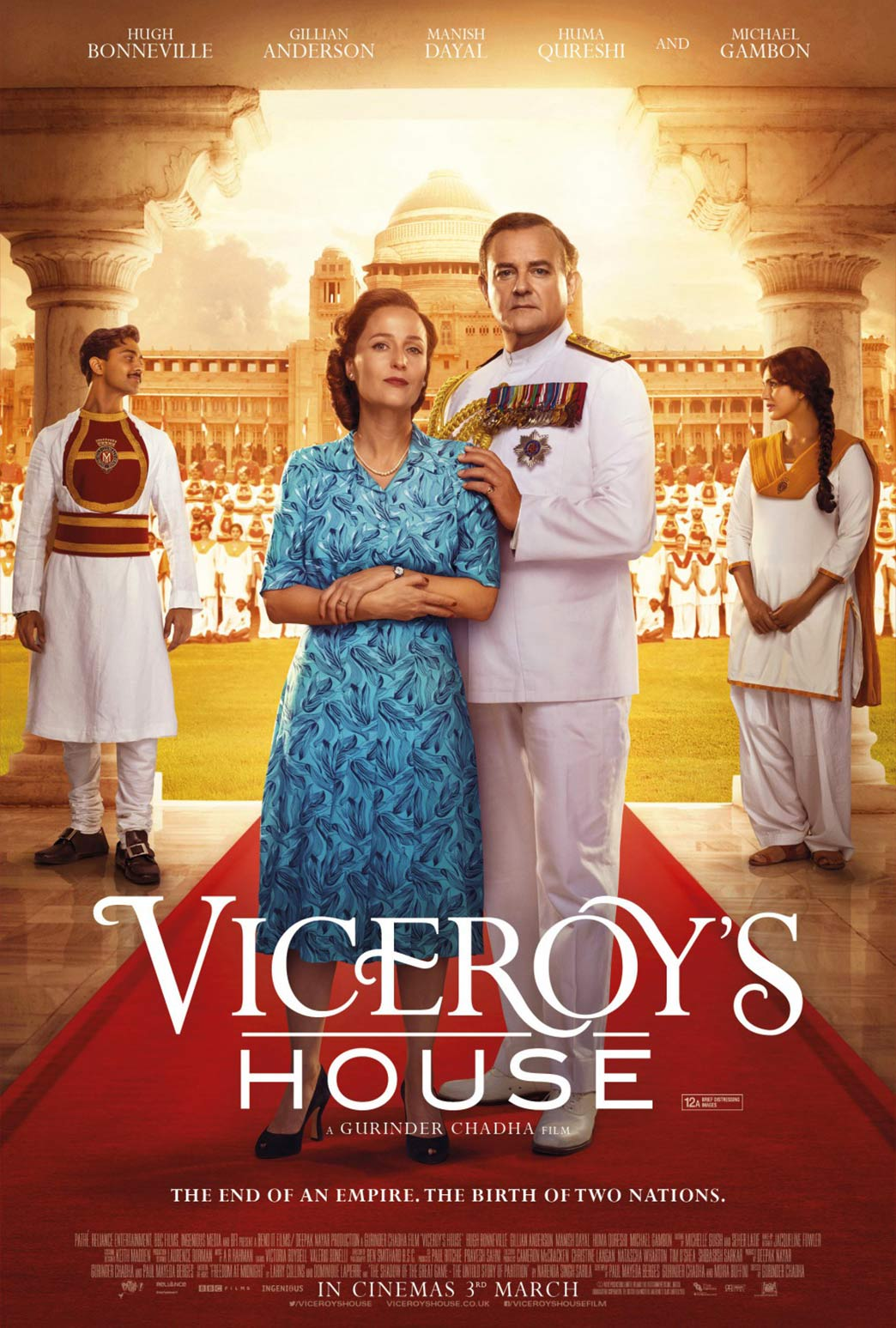 Image result for viceroy's house poster