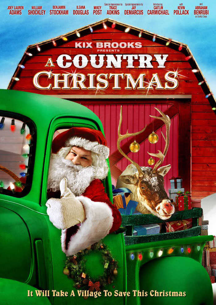 A Country Christmas Poster #1