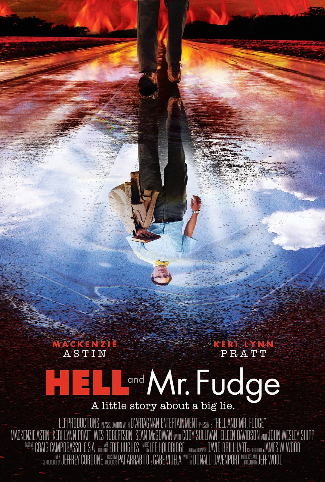 Hell and Mr. Fudge Poster #1