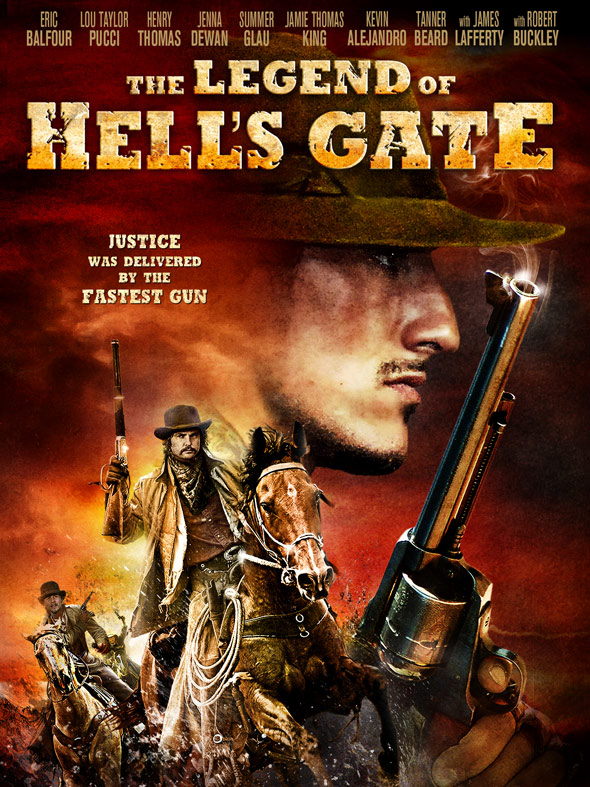 The Legend of Hell's Gate: An American Conspiracy Poster #1