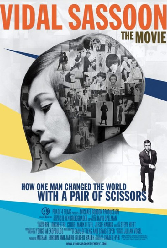 Vidal Sassoon: The Movie Poster #1