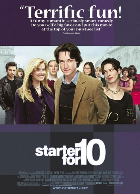 Starter for 10 Poster #1
