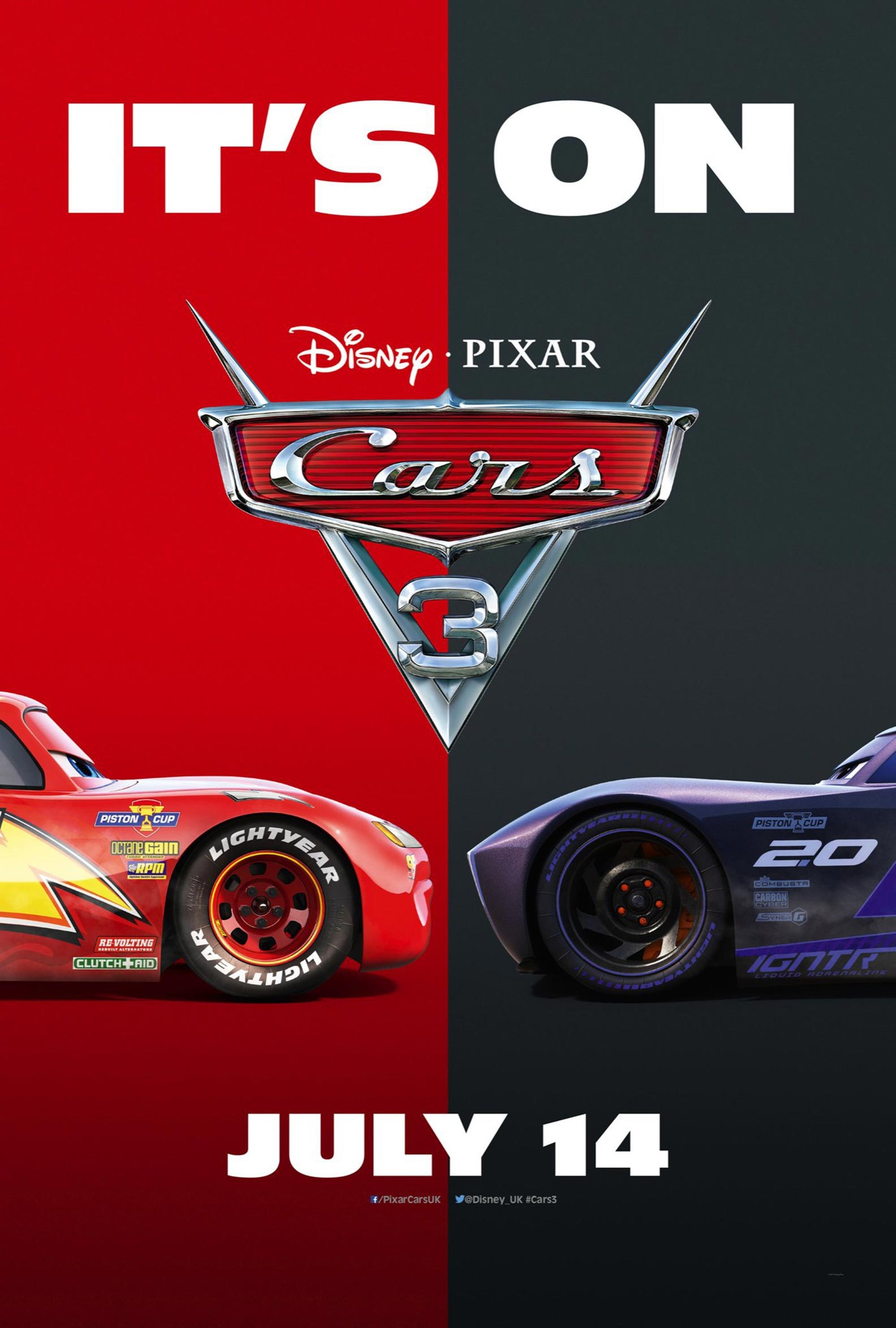 Cars 3 2017 poster 10 trailer addict for 3 by 3 prints