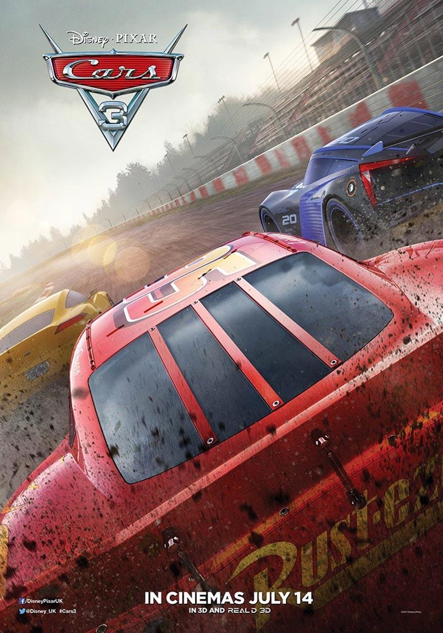 Cars 3 2017 Poster 9 Trailer Addict