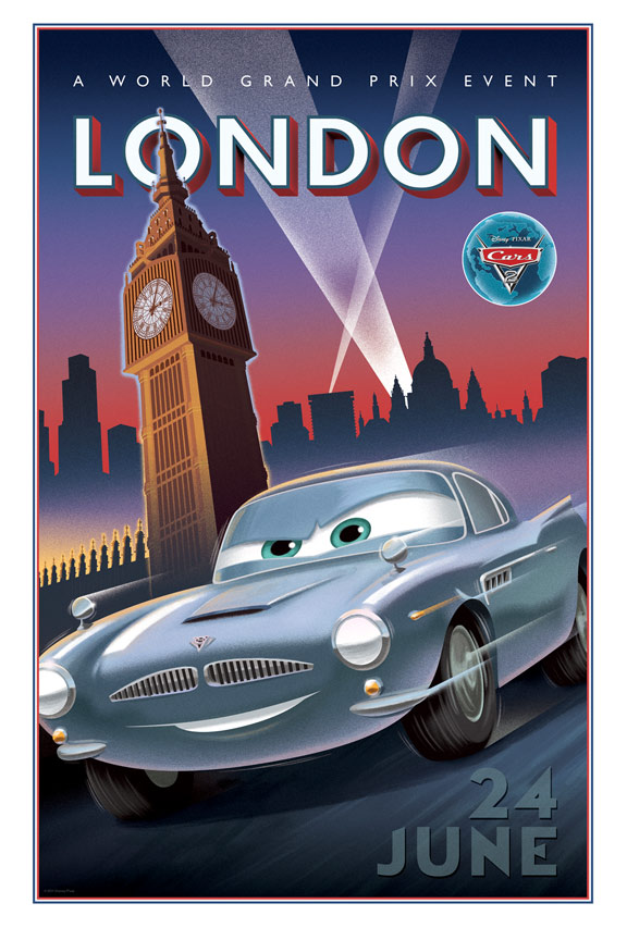 Cars 2 Poster #7