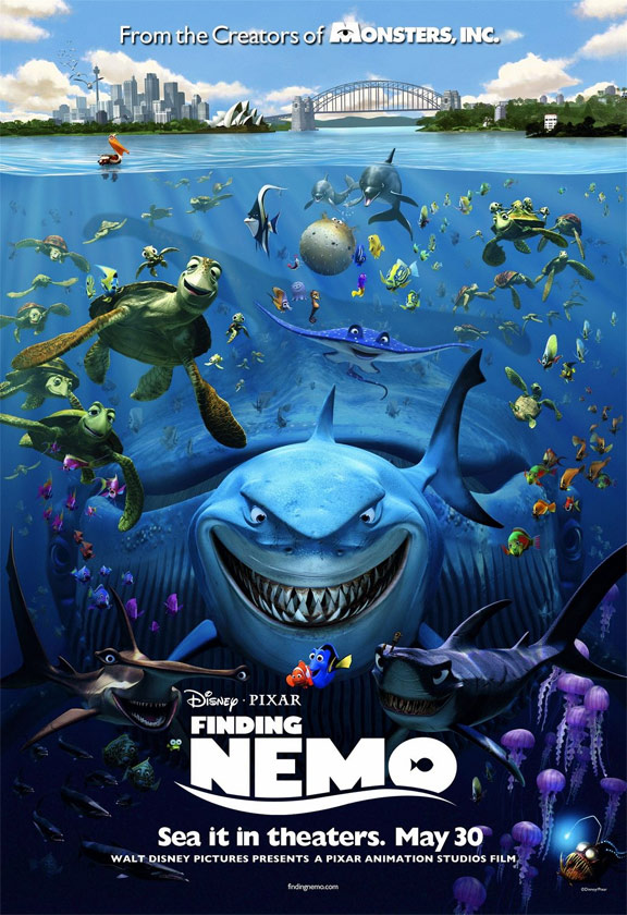 Finding Nemo Poster #3