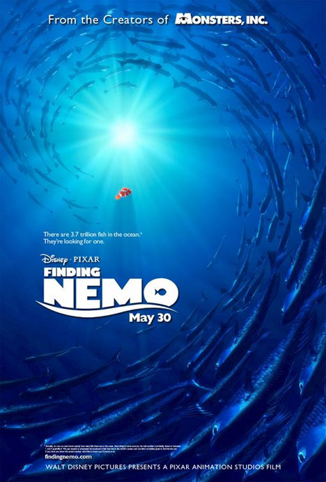 Finding Nemo Poster #1
