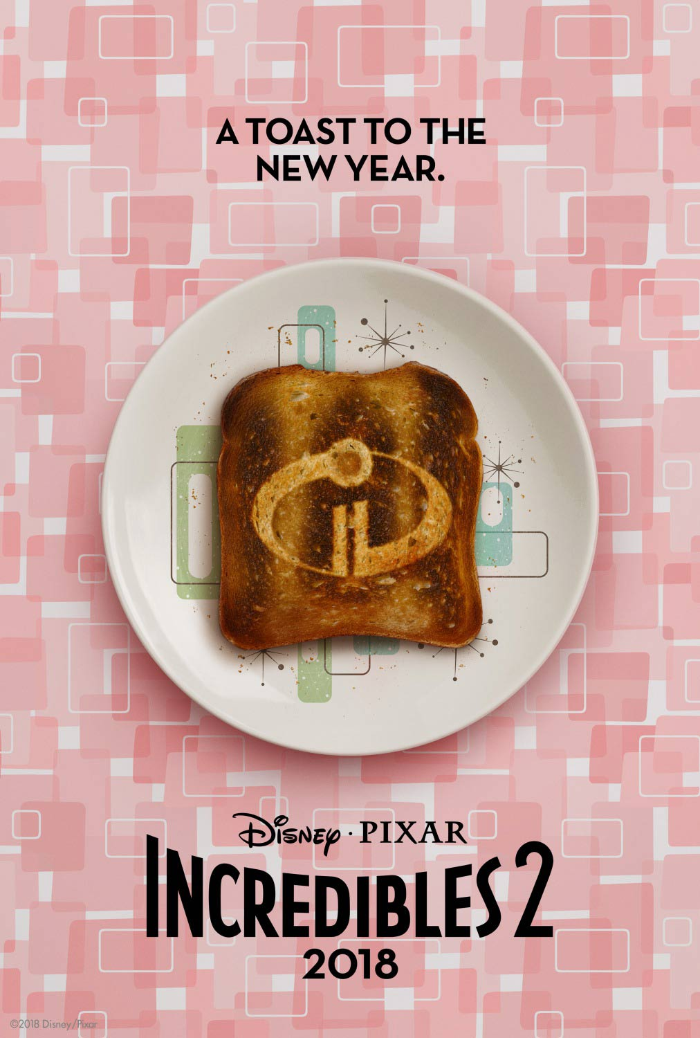 The Incredibles 2 Poster #3