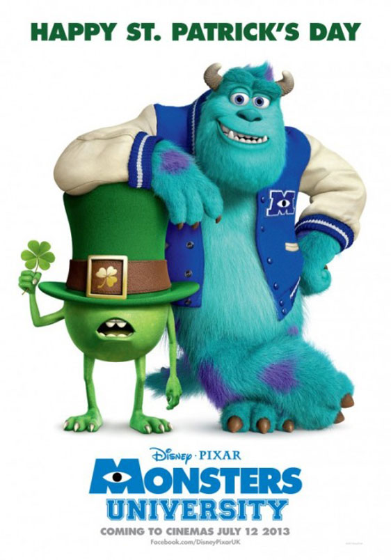 Monsters University Poster #10
