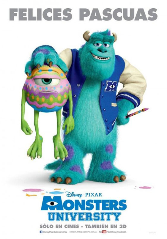 Monsters University Poster #12