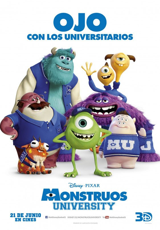Monsters University Poster #16