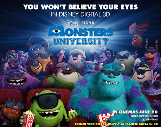 Monsters University Poster #20