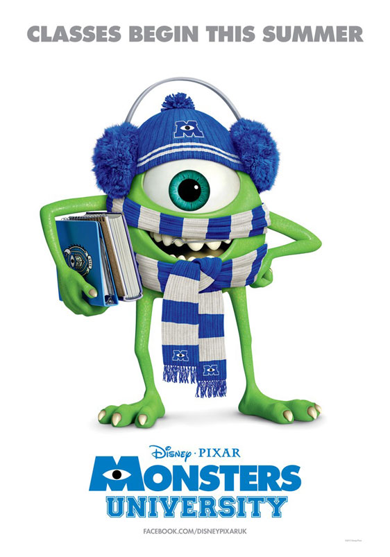 Monsters University Poster #4