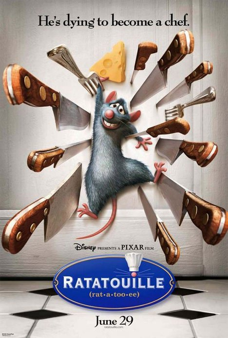 Ratatouille Poster #1