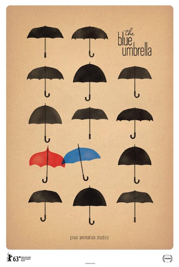 The Blue Umbrella Poster #1