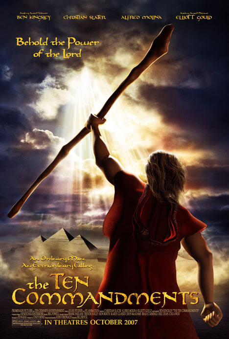 The Ten Commandments Poster #1
