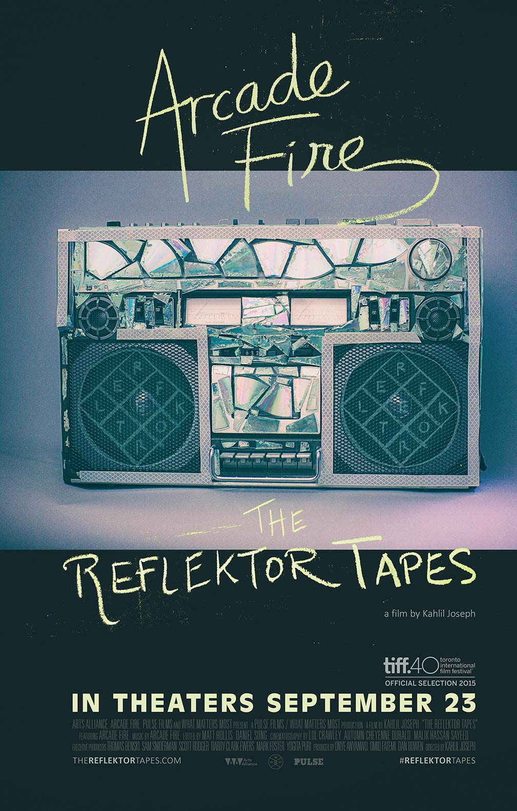 Arcade Fire: The Reflektor Tapes Poster #1