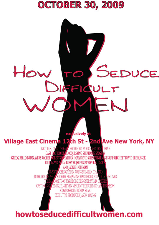 How to Seduce Difficult Women Poster #1