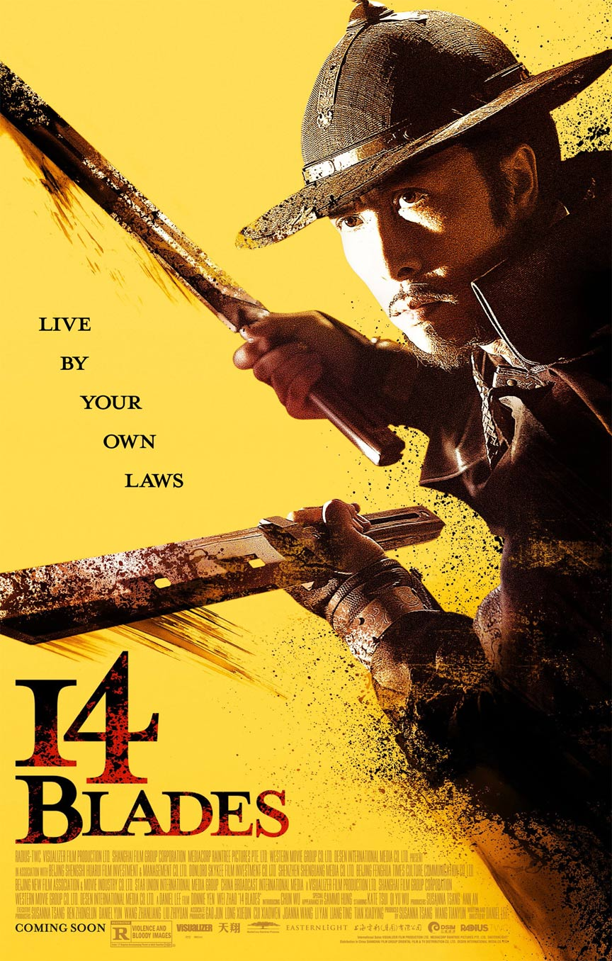 14 Blades Poster #1