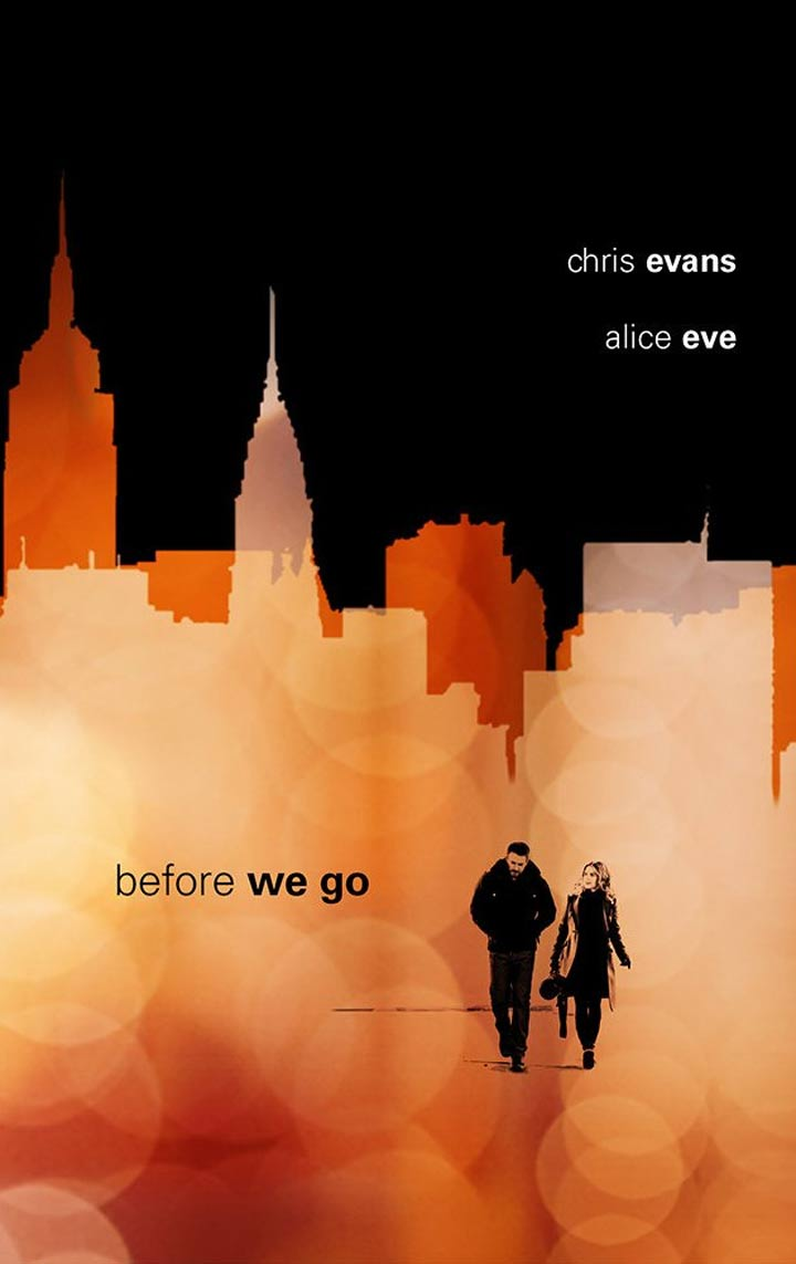 Before We Go Poster #1