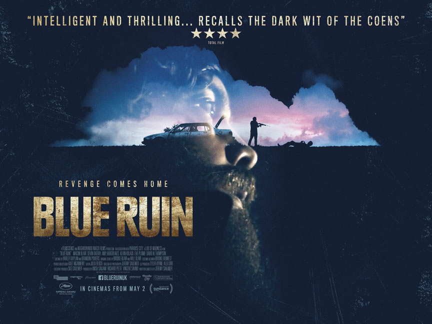 Blue Ruin Poster #2