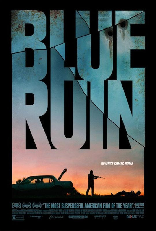 Blue Ruin Poster #1