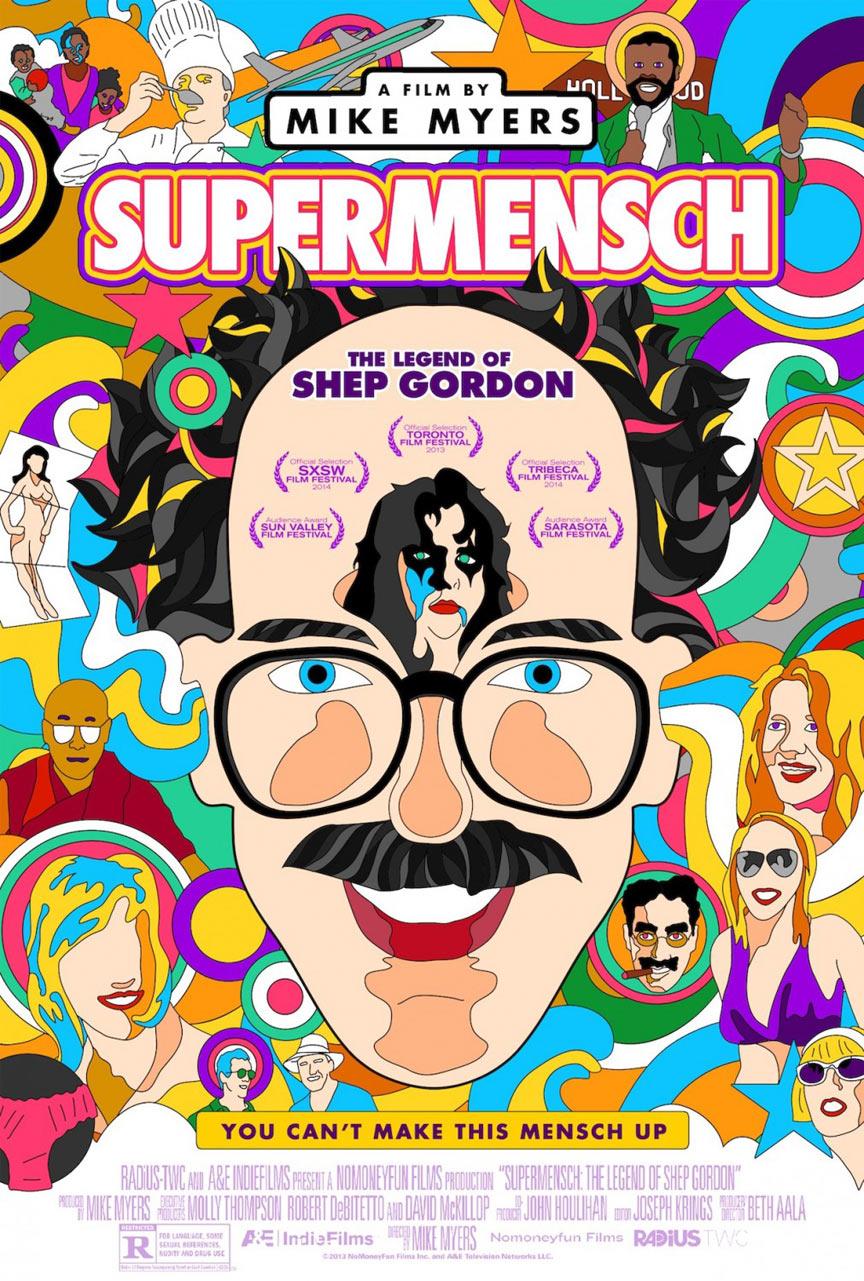 Supermensch The Legend of Shep Gordon Poster #1