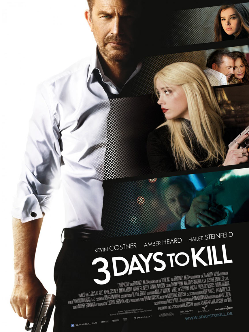 3 Days to Kill Poster #5