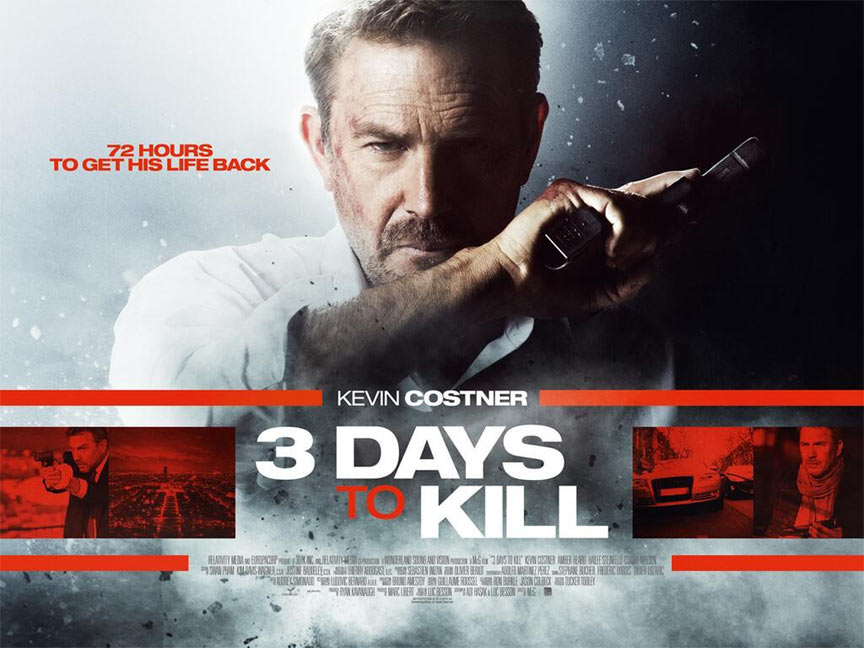 3 Days to Kill Poster #6
