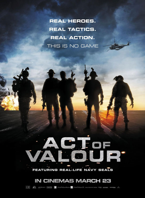 Act of Valor Poster #3