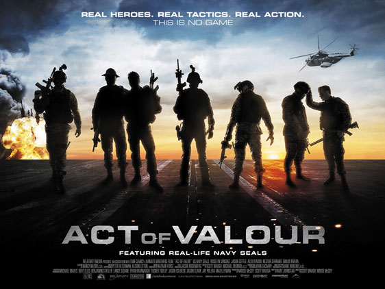 Act of Valor Poster #4