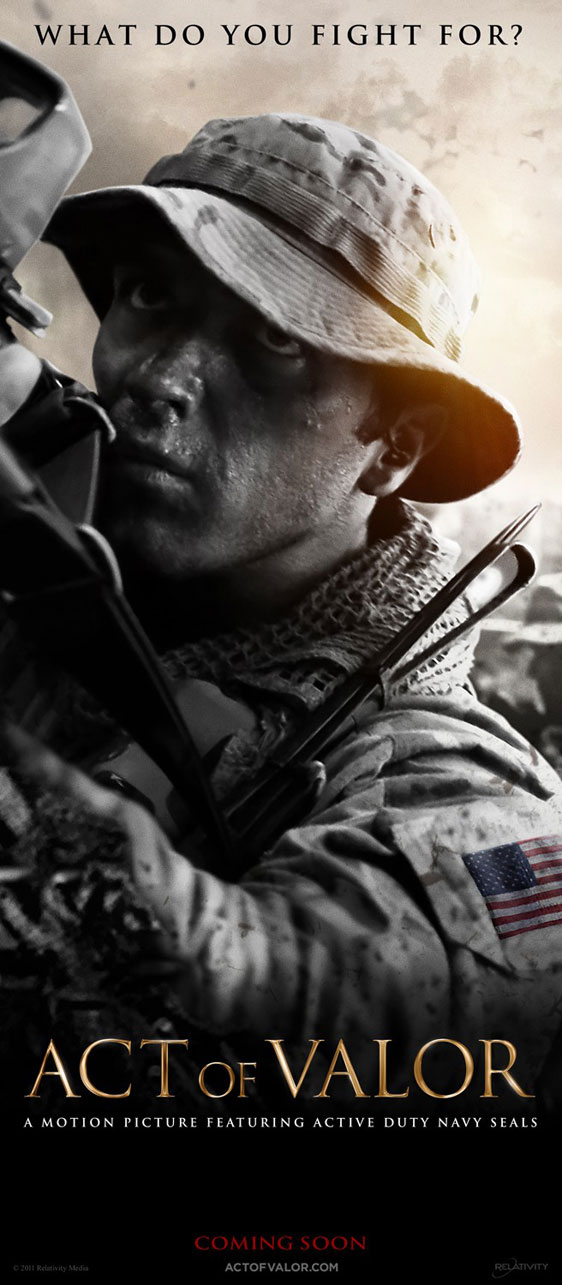 Act of Valor Poster #7