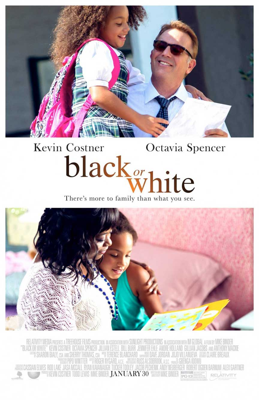 Black or White Poster #1