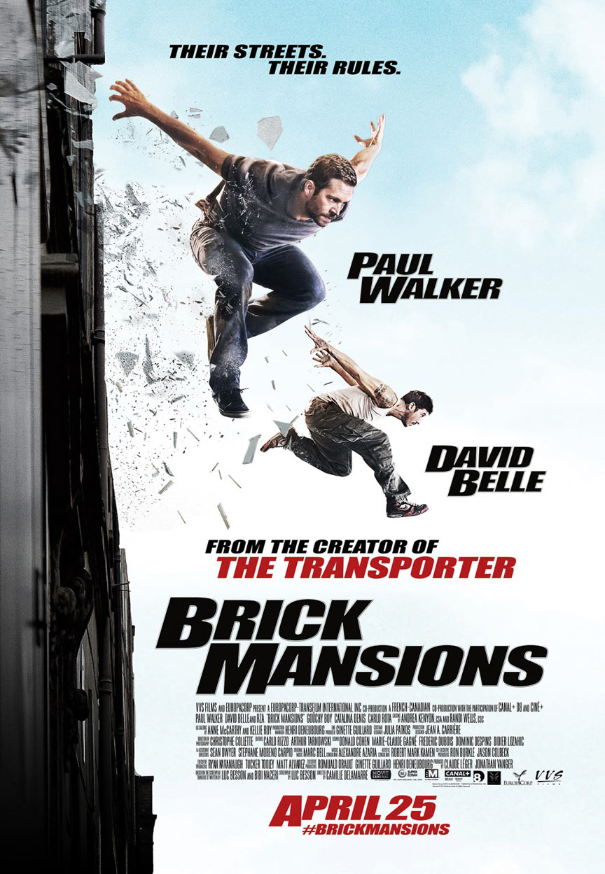 brick mansions 2014 poster 1 trailer addict