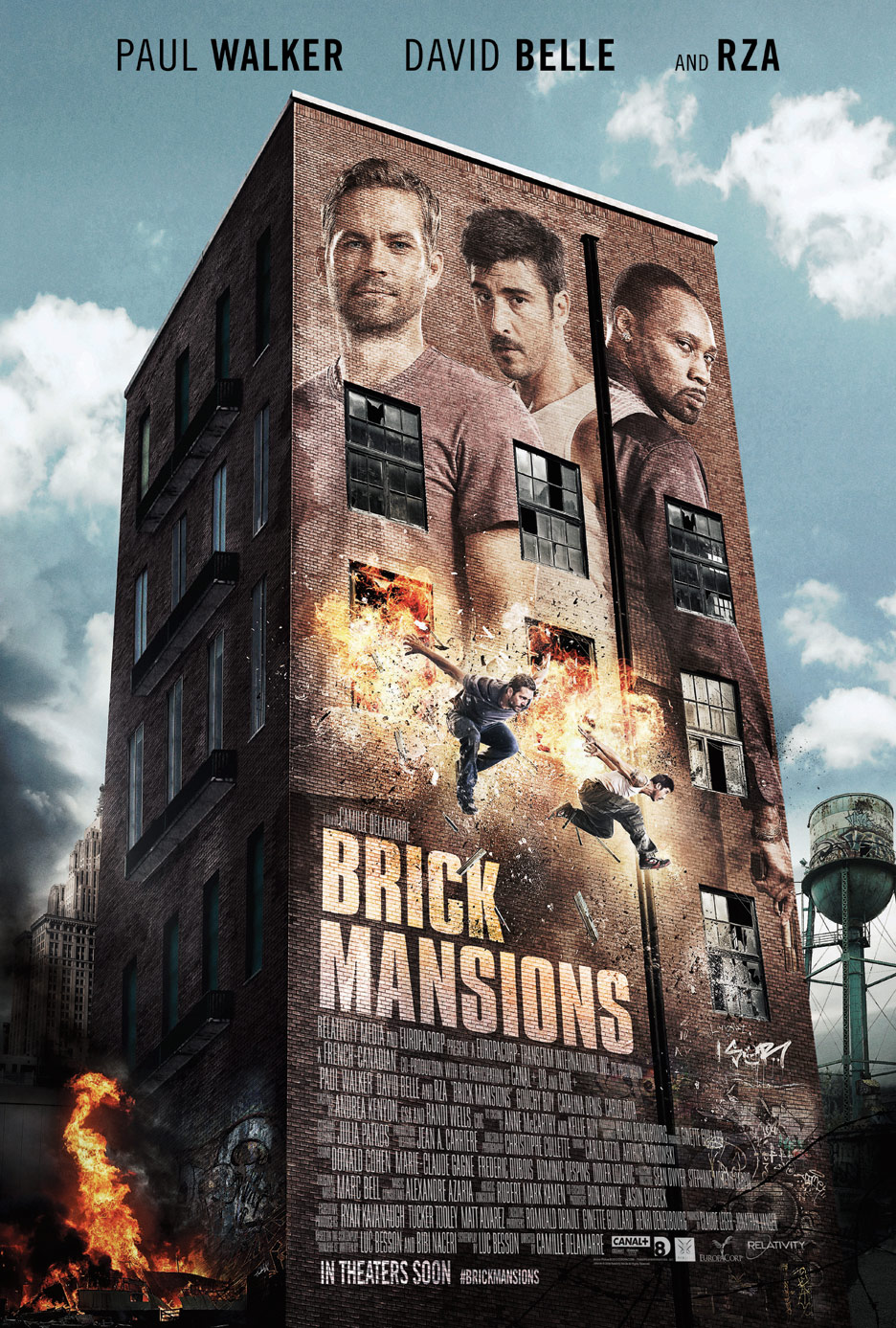 Brick Mansions Poster #1