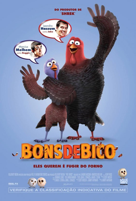 Free Birds Poster #2
