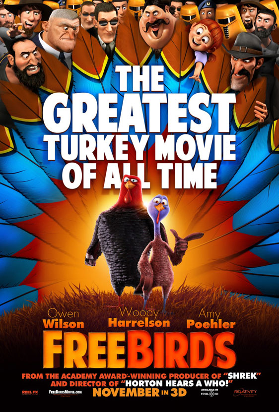 Free Birds Poster #3