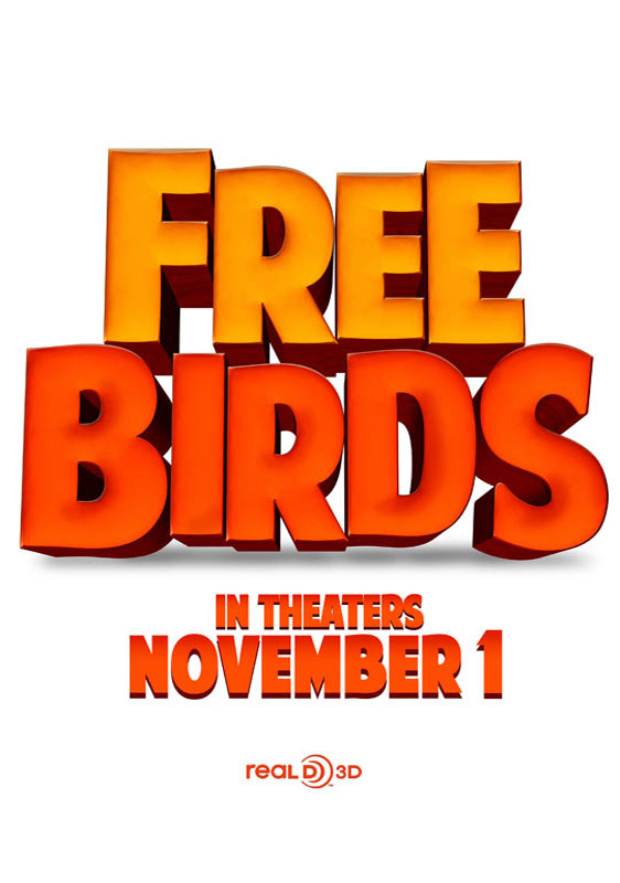 Free Birds Poster #1