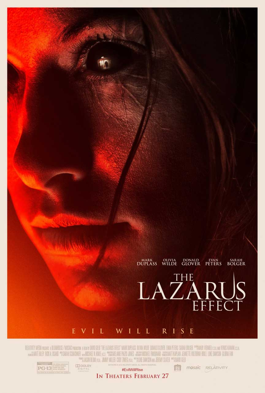 The Lazarus Effect Poster #1