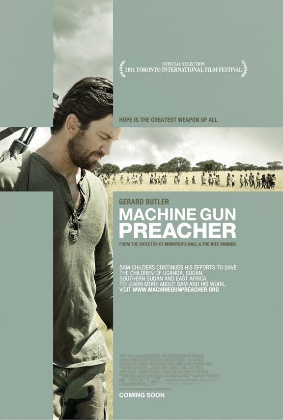 Machine Gun Preacher Poster #2