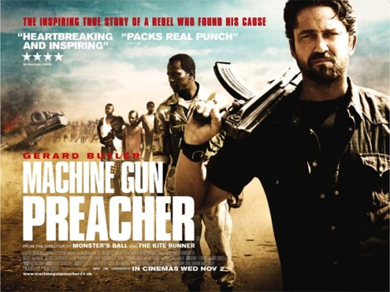 Machine Gun Preacher Poster #3