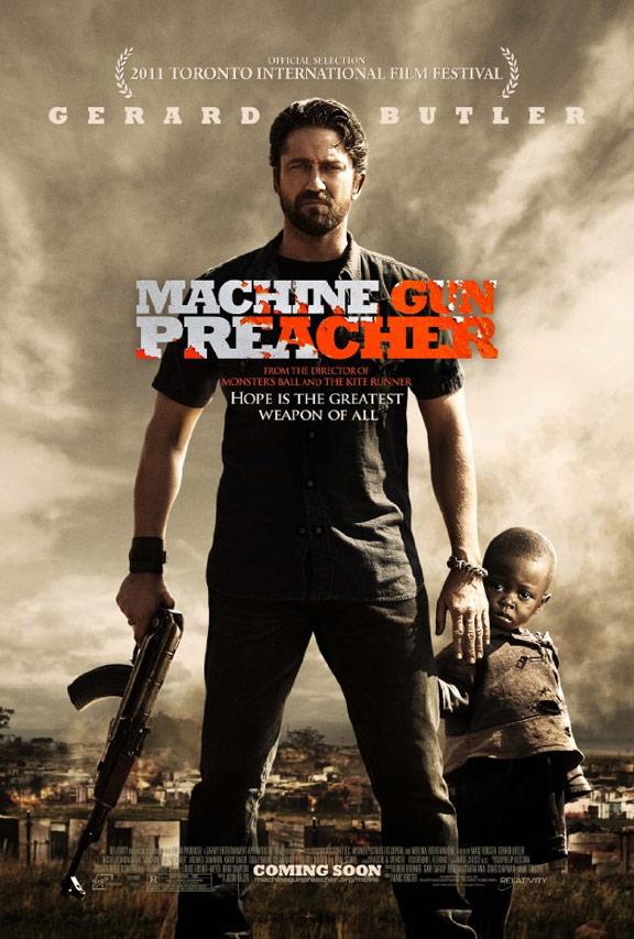Machine Gun Preacher Poster #1